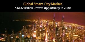Des industries convergentes et les villes intelligentes répresenteront des opportunités commerciales valant 1,500 milliards USD en 2020, selon Frost & Sullivan