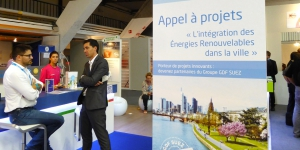 GDF SUEZ's call for projects, on the theme of sustainable energy, engaged startups