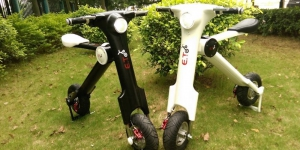 The ET Scooter, electric and pliable