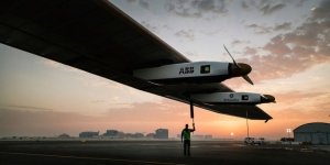 First step and first record for Solar Impulse!