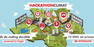 ​Engie and Grand Nancy are hosting a Climate Hackathon from November 6th-8th, 2015.