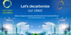 A Decarbonathon to reduce CO2 emissions in our cities