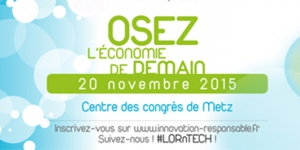 ​Daring to imagine tomorrow's economy, November 20th, 2015 in Metz