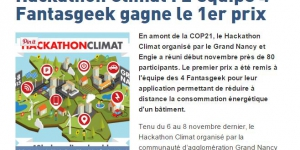 Résultats du Hackathon Climat dans le Monde Informatique