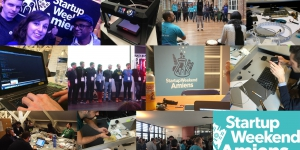 Amiens, a laboratory of innovative ideas for its first startup weekend