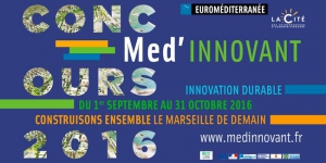 ​Participate in the med'Innovant competition to help conceive the Marseille of the future