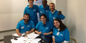 At the Ideas Hackathon, ENGIE's team will work on communicating about research