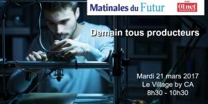 Matinale du Futur : Demain tous producteurs !