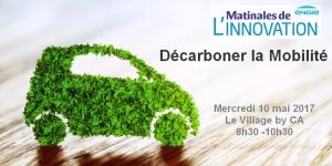 Matinale de l'Innovation Mobilité décarbonée