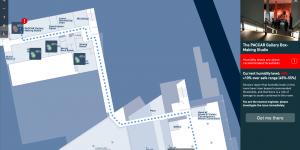 La cartographie numérique intuitive de Living Map au CES 2018