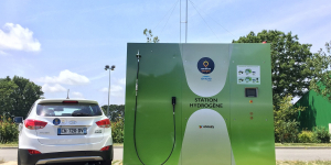 Atawey, French hydrogen stations at CES 2019