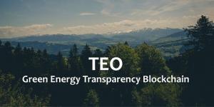 TEO (The Energy Origin) garantit l'origine de l'énergie verte avec la Blockchain