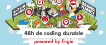 ENGIE et le Grand Nancy organisent un Hackathon Climat du 6 au 8 novembre 2015.