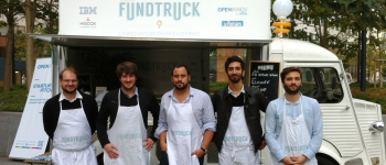 The fundtruck shows up at Engie!