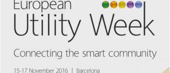 ENGIE at European Utility Week in Barcelona (November 15 - 17)!