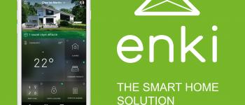 Enki, la solution de maison connectée par Leroy Merlin
