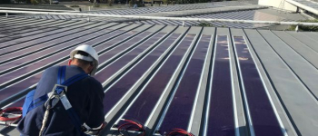 La plus grande installation photovoltaïque organique au monde