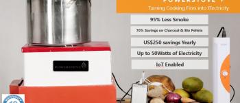Powerstove: Produire de l'énergie tout en faisant la cuisine !