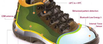 Intellinium protège la vie des travailleurs avec une chaussure de sécurité connectée et smart