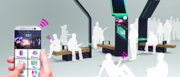 Ürbik: street furniture that speaks to your mobile phone