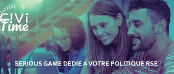 Civitime : Collaboratif et ludique, un serious game dédié à la politique RSE des entreprises