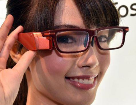 Toshiba présente à son tour ses lunettes connectées