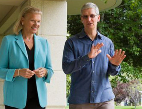 The first products to come from the Apple/IBM partnership are expected for November