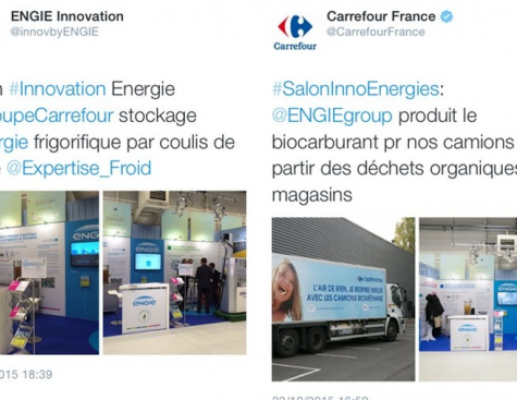 Carrefour Exhibition on