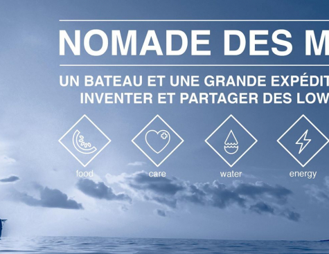 Engie boards the Nomade des Mers