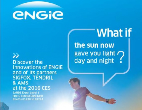​ENGIE's innovations will be shown at CES 2016