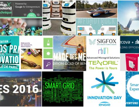 ENGIE au coeur du monde de l'innovation en 2015