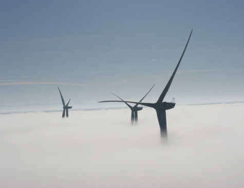 Heated patches for wind turbine blades