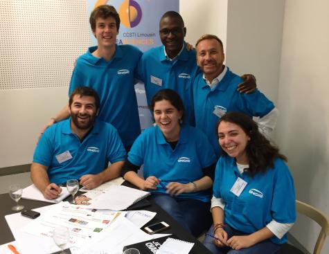 Au Hackathon de l'idée, l'équipe ENGIE planche sur la communication de la recherche