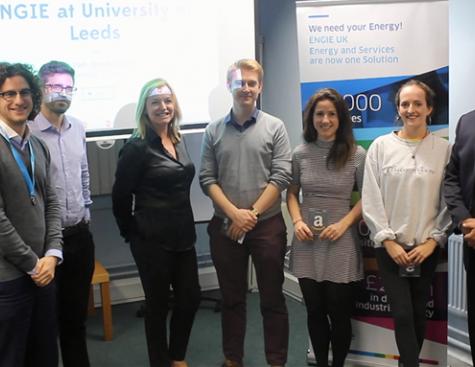 ENGIE UK organise un Hackathon à l'université de Leeds