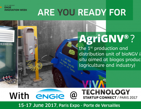 Prodeval, AgriGNV for the energy transition