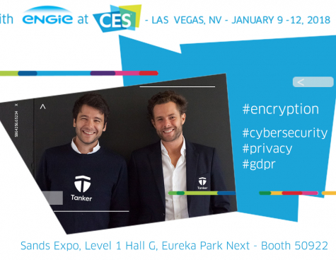 Tanker at CES 2018: turnkey cybersecurity solutions for cloud services developers