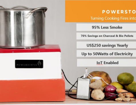 Powerstove: Free off-grid electricity as you cook!