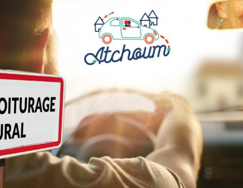 Atchoum, une solution de mobilité rurale à la demande