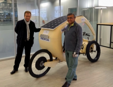 CES 2019: Solar Connected Bike, a shared mobility solution for greener transport