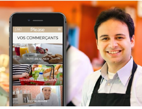 Please: the digital platform of the convenience store crosses the million of order !