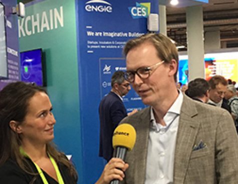 [VIDEO] in LIVE from ENGIE booth at CES -  8 to 11 january