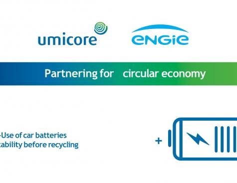 Des batteries industrielles de deuxième vie développées par ENGIE et Umicore en Belgique