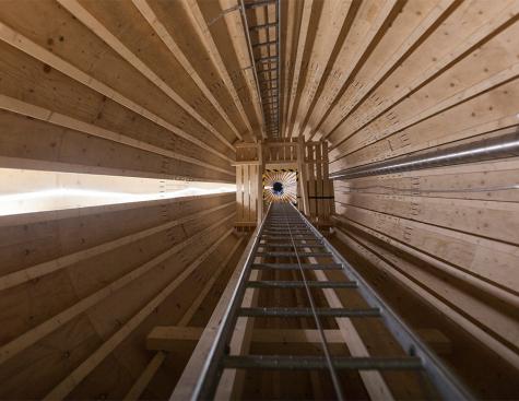 Le futur des éoliennes sera-t-il fait de bois ?