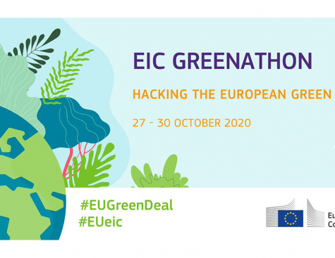 "Ideation : EIC Greenathon"": Hacking the European Green Deal"