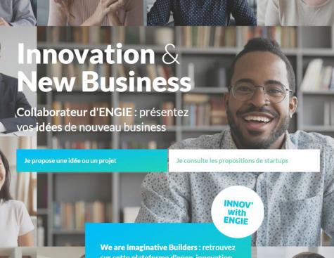 ENGIE présente sa nouvelle plateforme globale dédiée à l'innovation