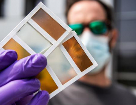 Smart Windows Turn Into Solar Cells When Transitioning