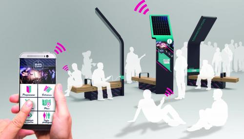 Ürbik : le mobilier urbain qui parle à l'oreille de votre portable