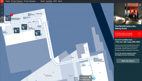 Living Map: Bridging the information gap between people and places