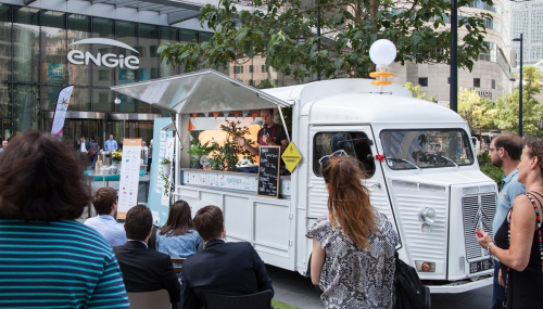 The 2018 edition of the Fundtruck stops at ENGIE on September 20th