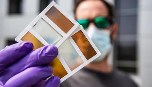 Smart Windows Turn Into Solar Cells When Transitioning